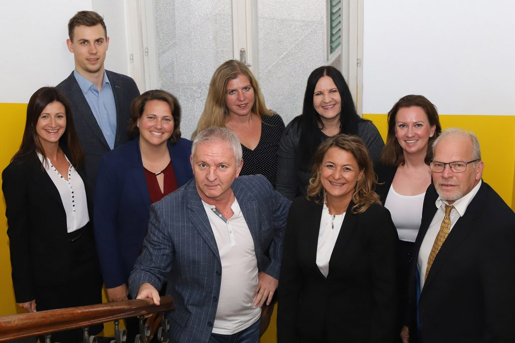 Das Team der THP Immobilienverwaltung KG